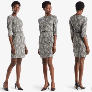 MM Lafleur Etsuko Dress Crackle 3/4 sleeve dress